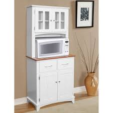 Kitchen Hutch Ideas Furniture Wonderful Design Of Best Microwave Cart For Kitchen