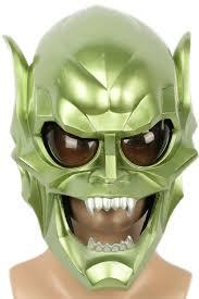 xcoser green goblin mask movie spider man cosplay helmet costume