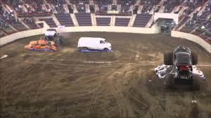 monster truck show in pa monster trucks race at the farm show complex in harrisburg youtube