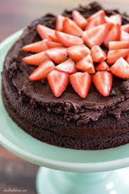 strawberry chocolate paleo cake paleo glutenfree and moist cakes