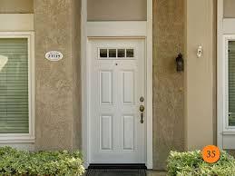 Exterior Door With Window 5 Panel Exterior Door White All Modern Home Designs