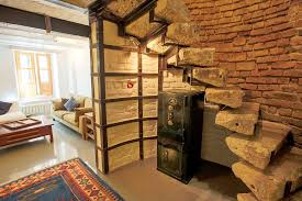 Interior Stairs Design In Duplex Apartments with Stylish Duplex Apartment In A Historical Building In Istanbul