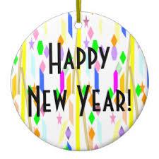happy new year ornaments keepsake ornaments zazzle