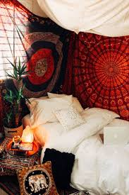 bedroom bohemian small bedroom ideas funky and colorful bedroom