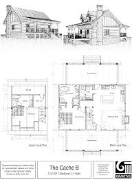 upland retreat luxury log home plan throughout plans corglife