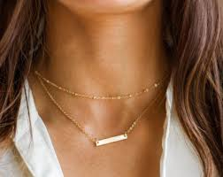 monogrammed necklace monogram necklace etsy
