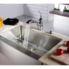 Single Undermount Kitchen Sinks by Kraus Khf200 33 Kpf2210 Ksd30orb Stainless Steel 33 Inch Farmhouse