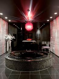 bathroom ideas with white stand alone porcelain bathtubs and stone