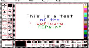 paint software pcpaint
