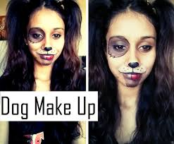 Puppy Makeup Halloween by Dog Makeup Hair Youtube