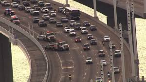 Traffic Map San Francisco by Accident On Bay Bridge Closes 2 Eb Lanes Snarles Traffic In Sf
