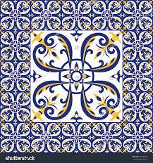 Tile Floor In Spanish by Tiles Floor Pattern Vector Ceramic Cement Stock Vector 623884535