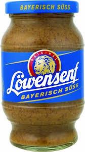 lowensenf mustard gourmet pantry goods lowensenf mustard bavarian sweet 040224