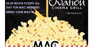 r ovation cuisine mac at ovation cinema and grill midlothian athletic