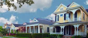 new orleans colorful houses the garden district new orleans la community information