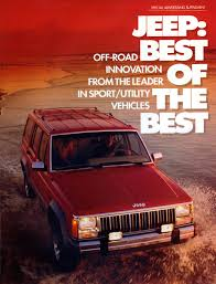 vintage jeep ad that early u002790s suv nostalgia feeling hemmings daily