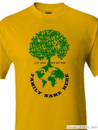 Tree Shirt T Shirt Cafe Family Reunion Tree Designs