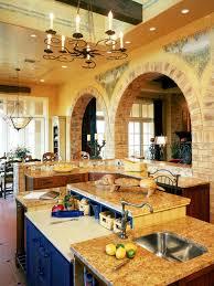 hgtv home design kitchen yellow mediterranean kitchen photos hgtv idolza
