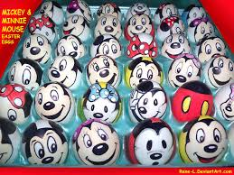 mickey mouse easter eggs mickey n minnie mouse easter eggs by rene l on deviantart