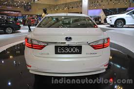 lexus es300h 2016 lexus es300h rear at the 2015 gaikindo indonesia