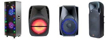 moonlight speakers qfx inc usa pro audio