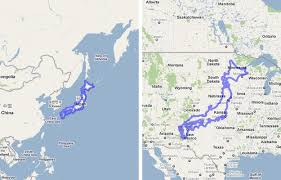 map us japan 19 maps that will help you put the united states in perspective