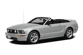 ford mustang 2009 convertible 2009 ford mustang gt premium 2dr convertible information