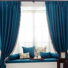 Light Block Curtains Curtains Light Blocking Curtains With Blue Sofa And Blue Curtain