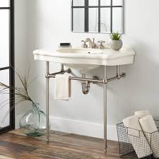 console tables stone bathroom designs black vanity mix white