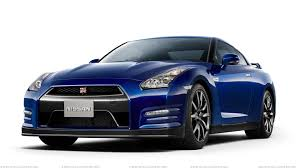nissan gtr side view front side pose of 2012 nissan gt r in blue wallpaper