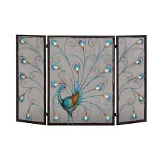 creative contemporary glass fireplace screen home design popular