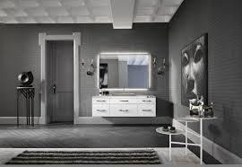 interior design art deco bathroom black white gray magic4walls
