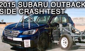 subaru van 2015 crashnet1 crash test videos