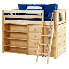 maxtrixkids katching2 ns mid loft bed with angle ladder 4