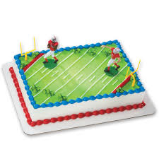 football cake football touchdown decoset cake decoration toys