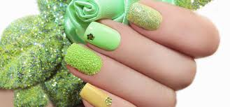 fun green nail art designs you can try right now