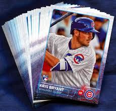 2015 topps chicago cubs baseball cards team set