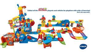 toddler car toddler car track tower vtech playset preschool toy pretend play