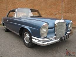 1960 mercedes for sale mercedes 220se