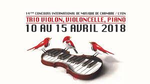 concours musique de chambre concert des lauréats du concours de musique de chambre de lyon trio
