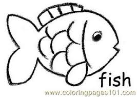 fish crayon coloring page free other fish coloring pages