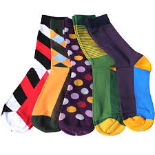 match up free shipping combed cotton brand men socks colorful