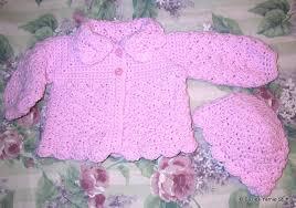 crochet baby sweater pattern suzies stuff s pretty shells baby sweater and hat c