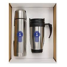 chagne gift set promotional thermo bottle mug gift sets with custom logo for 9 24 ea
