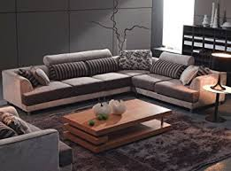 kitchen sectional sofas contemporary dining chairs furniture modern beige fabric sectional sofa chair kitchen