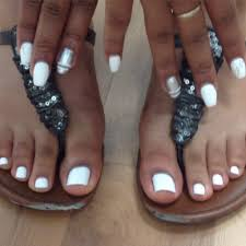grad special waterless pedicure and full set gel nail sculpts with