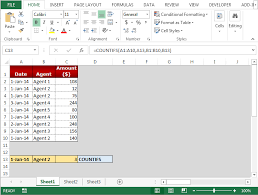Countif Sumif Minif Averageifs Sumifs And Countifs Functions In Microsoft Excel