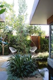 a seamless indoor outdoor courtyard designed by peter fudge