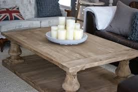 coffee table restoration hardware