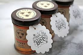 honey jar wedding favors personalized wedding favor tags honey tags 50 meant to bee